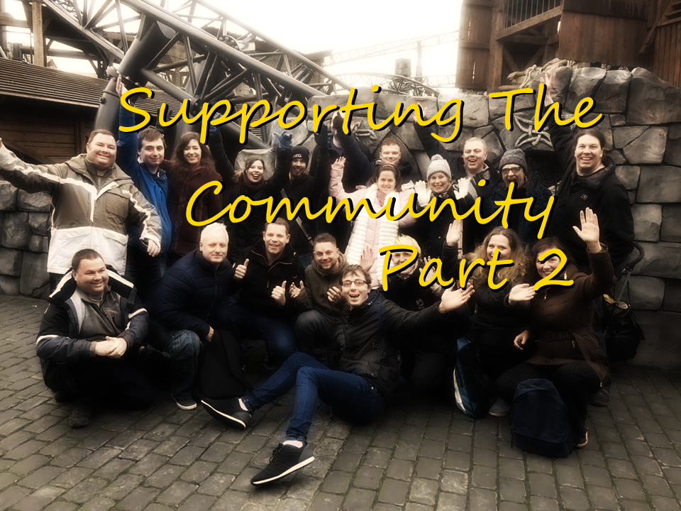Supporting The Community – Part 2!
