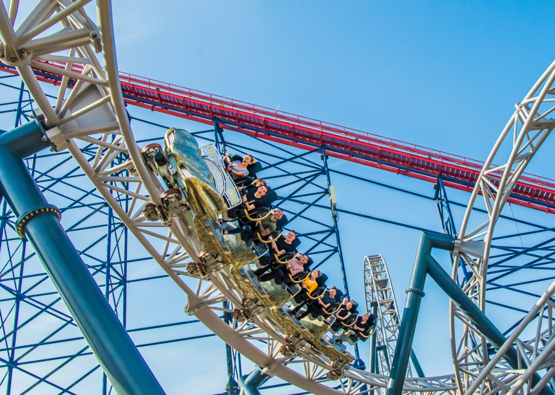 Blackpool Pleasure Beach – Attractions